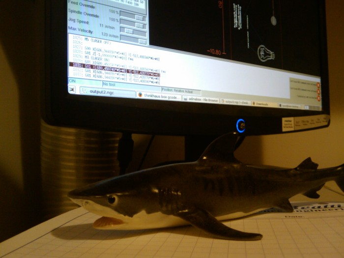 lazzor shark